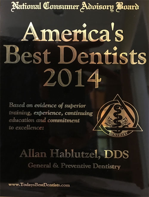 America's best dentist award for Pacific Ave. Dental in Bremerton, WA